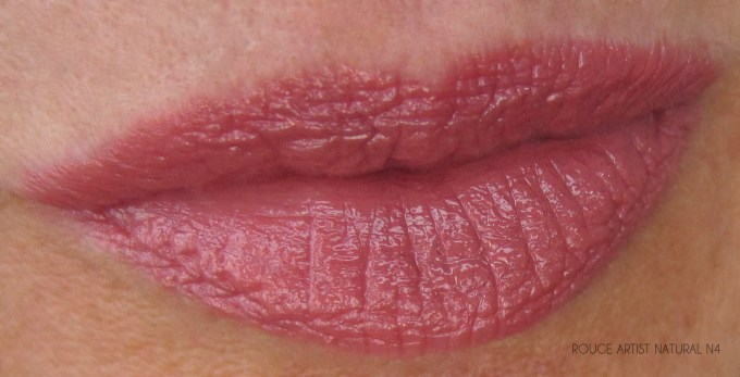 MUFE Give In To Me lipstick swatch