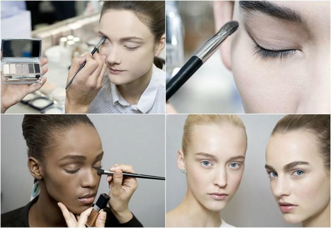 Dior Eye Reviver backstage