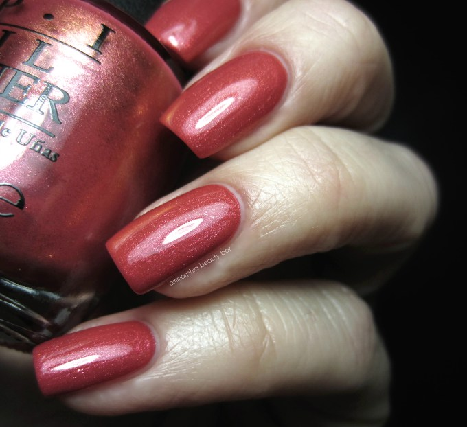 OPI Go With The Laval Flow swatch