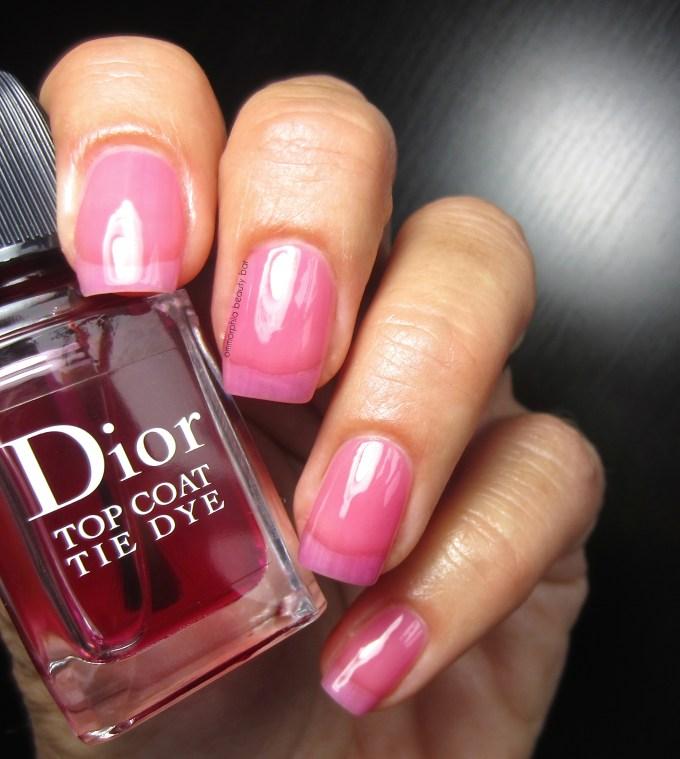 Dior Tie Dye Top Coat swatch