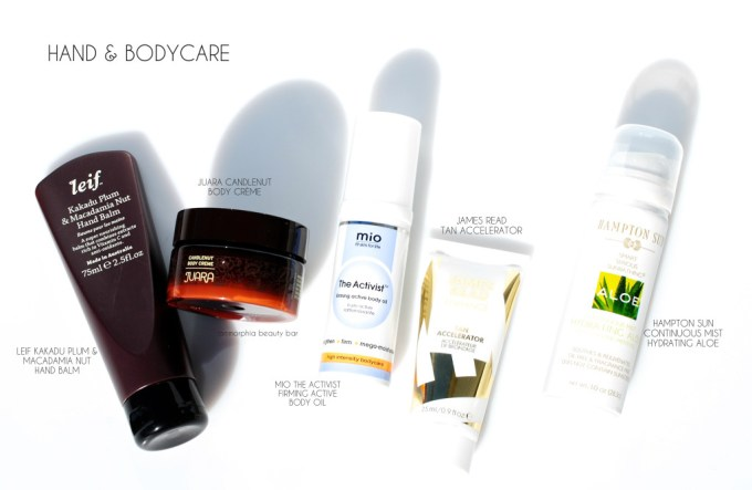 Space NK Autumn Beauty Edit hand & bodycare