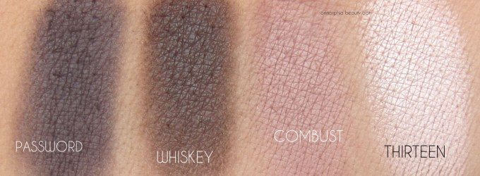 UD Naked Smoky quad 3 swatch 2