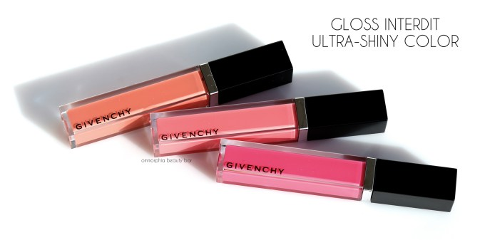 Givenchy Gloss Interdit trio