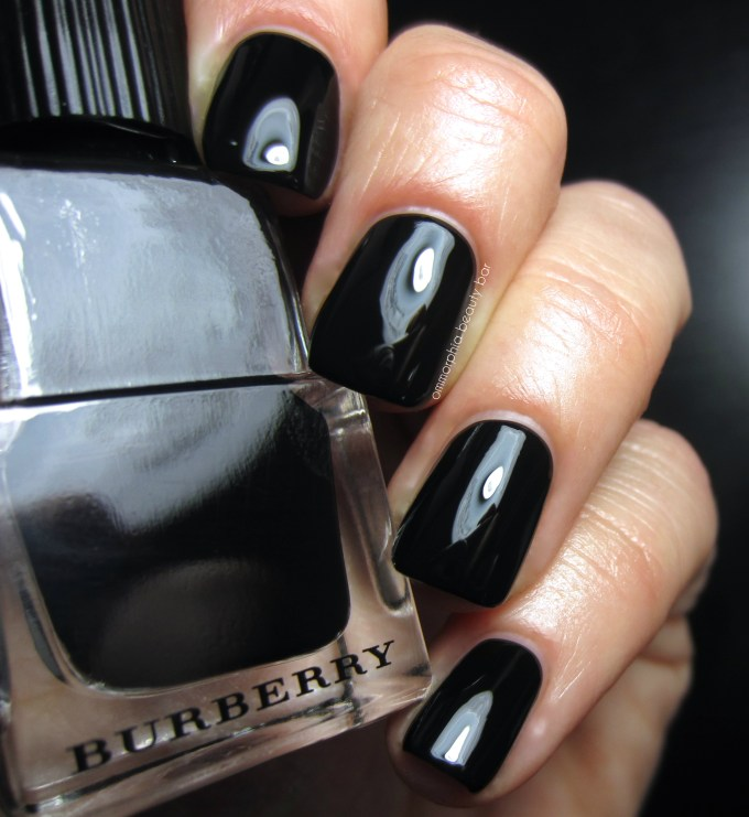 Black Poppy Nail Polish: Nail Polish Comparisons