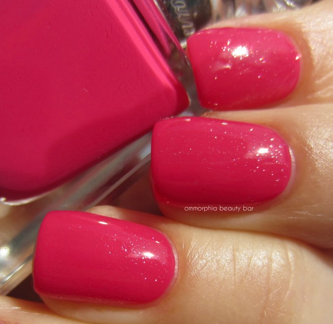 Guerlain Pink Tie & My First Nail Polish swatch