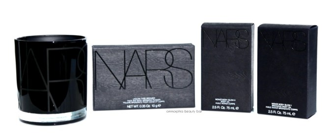 NARS Tahiti Bronze Collection packaging