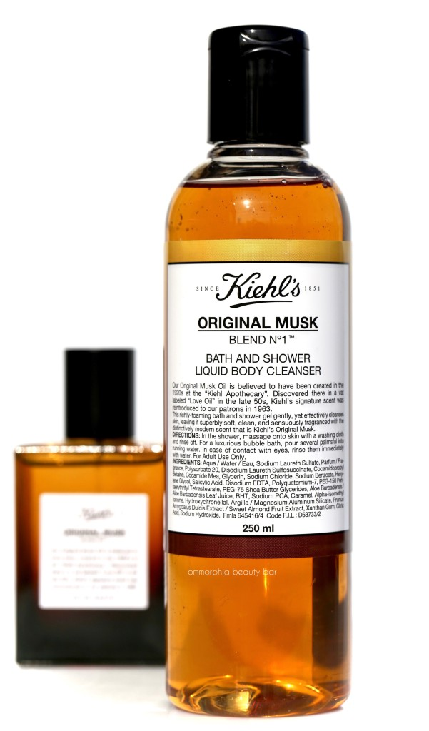 Kiehls Original Musk Shower Gel 2