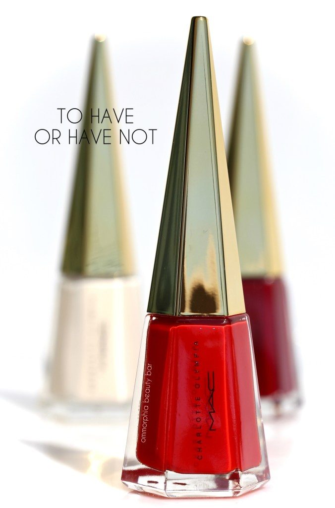 MAC x Charlotte Olympia To Have Or Have Not