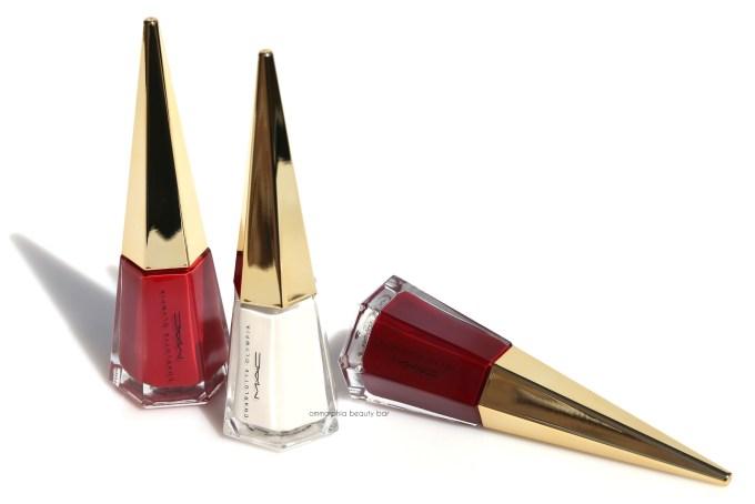 MAC x Charlotte Olympia nail polishes 3