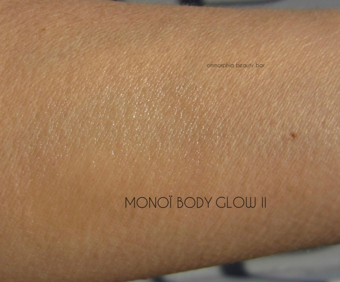 NARS Monoi Body Glow I swatch