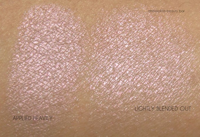 UD Aura Afterglow Highlighter swatches