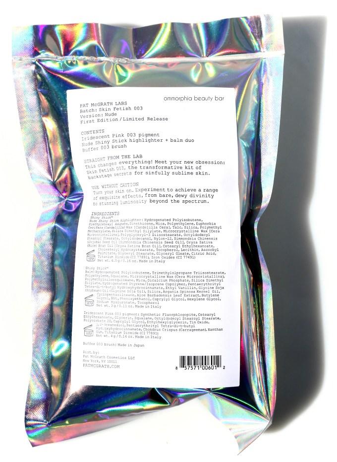 Pat McGrath Skin Fetish 003 packaging 2