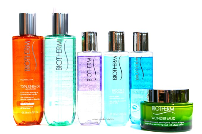 Biotherm cleansers closer