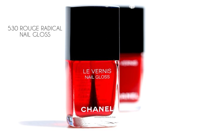 CHANEL Le Rouge Collection Rouge Radical Nail Gloss