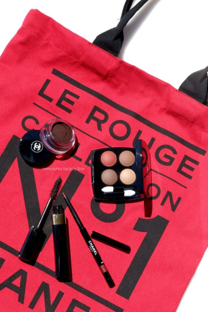 CHANEL Le Rouge eyes opener