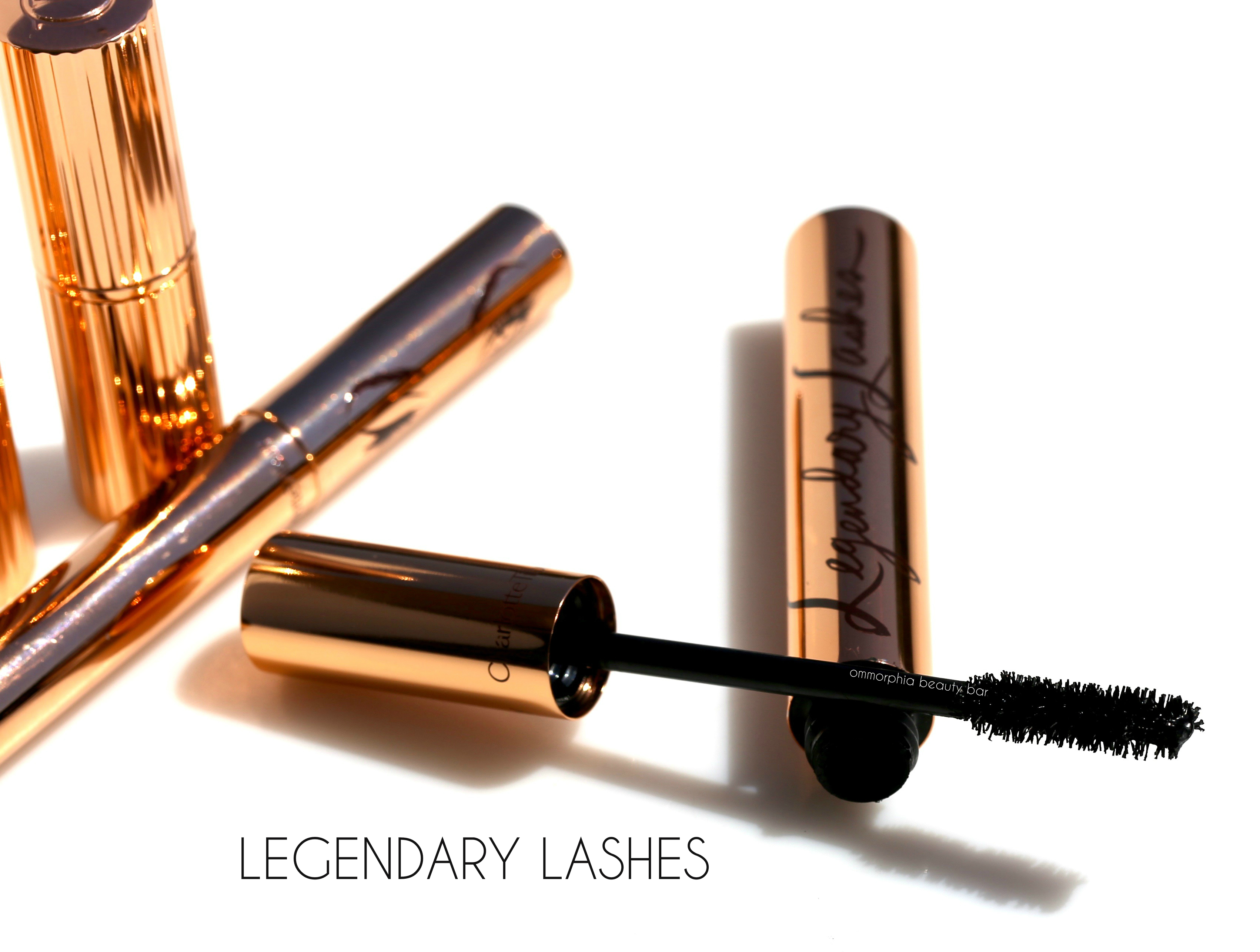 Charlotte Tilbury Legendary Lashes Mascara Brows Hot Zoya Volumizer Lash Black Vinyl Can 3800 With Flirty Eyes Printed On The Tube And Signature Rose Gold Casing This Was Created To
