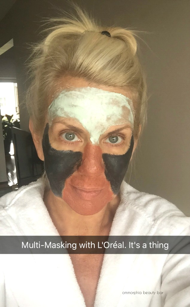 L'Oreal Pure-Clay Mask swatches 2