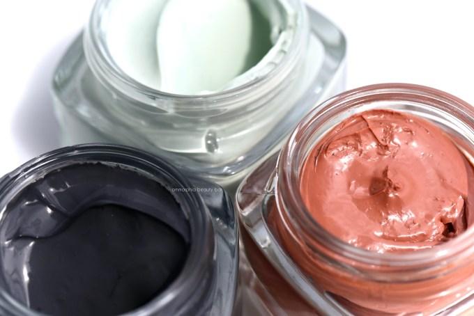 L'Oreal Pure-Clay Masks closer