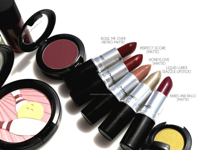 MAC It's A Strike lipsticks macro