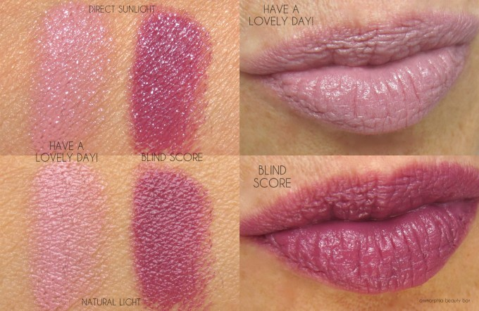 MAC It's A strike Casual Colour swatches