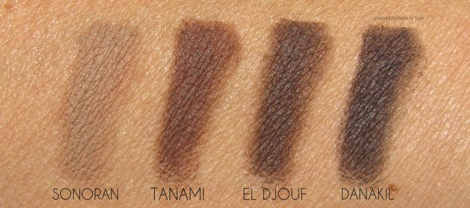 NARS Chic Out Brow Defining Cream swatches