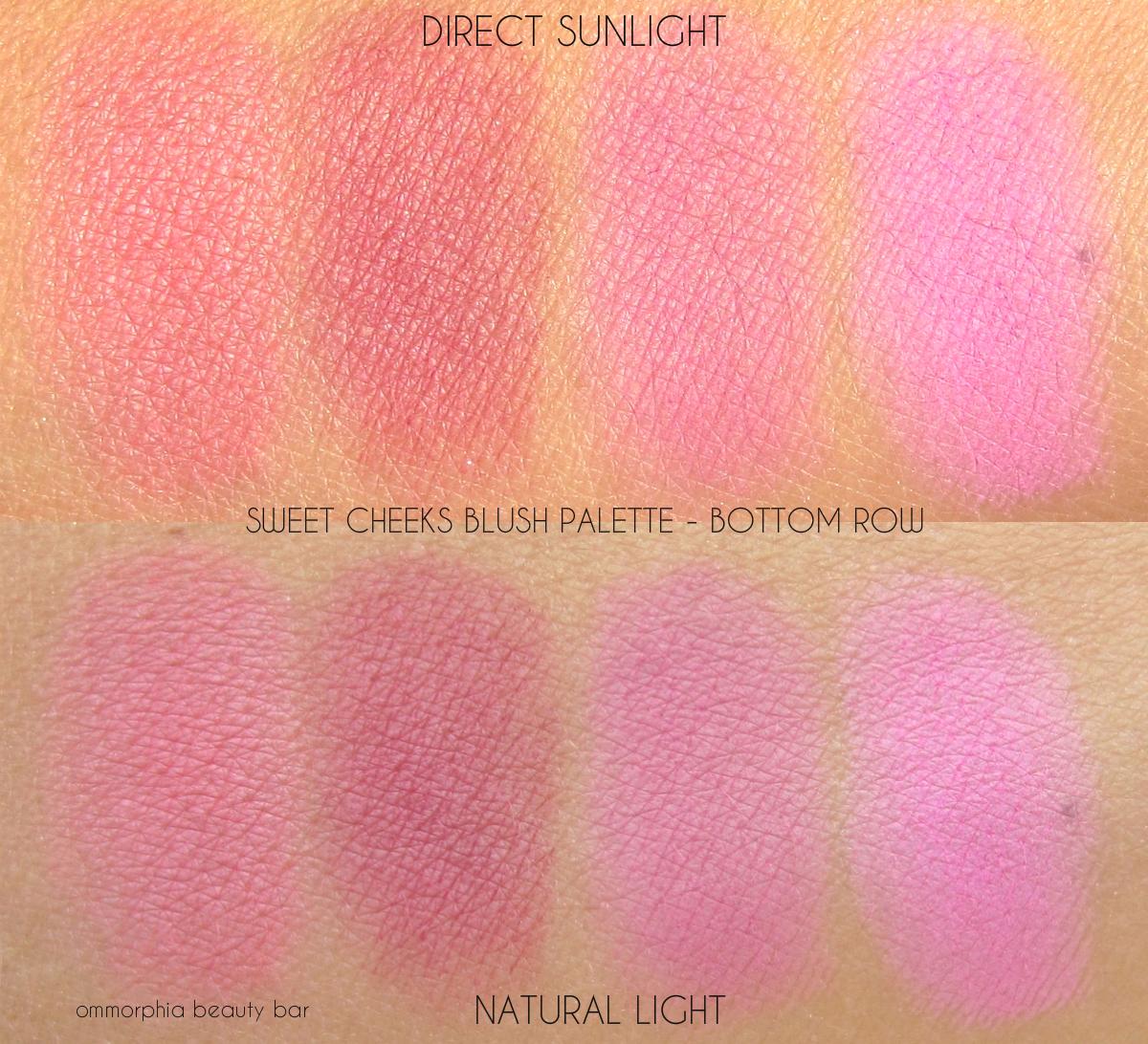 Nyx Sweet Cheeks Blush Palette Ombre Blush Ommorphia Beauty Bar