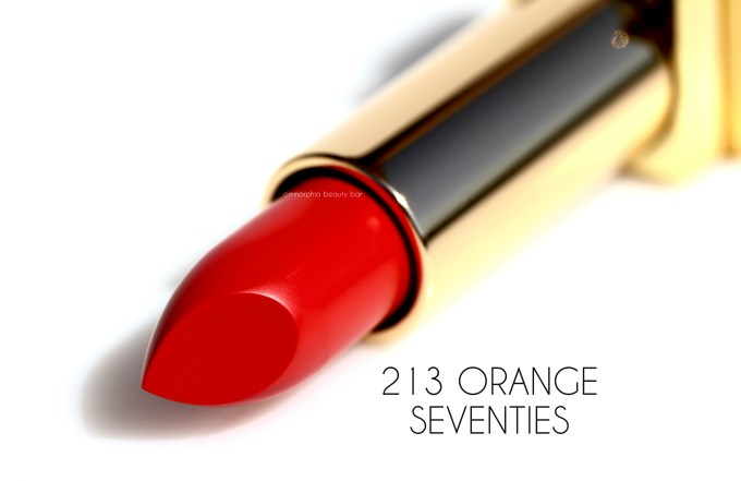 YSL Orange Seventies Scandal Collection