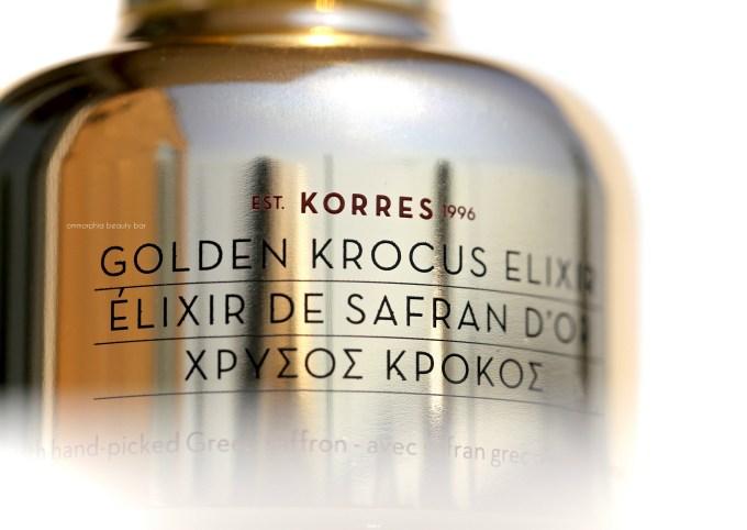 Korres Golden Krocus Elixir 3