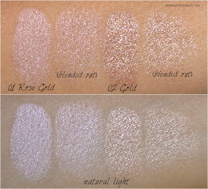 mufe-pro-light-fusion-highlighters-swatches