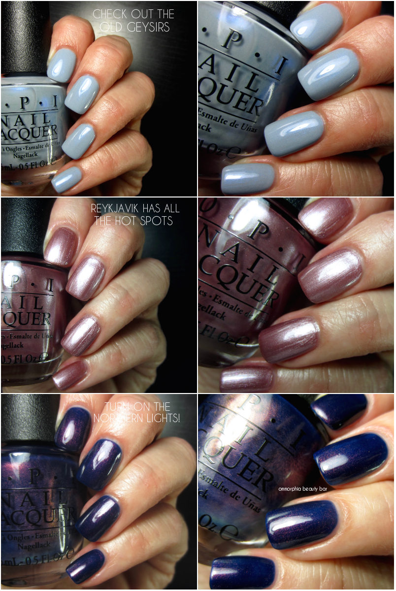 OPI · Iceland Collection, Fall/Winter 2017 | ommorphia beauty bar ...