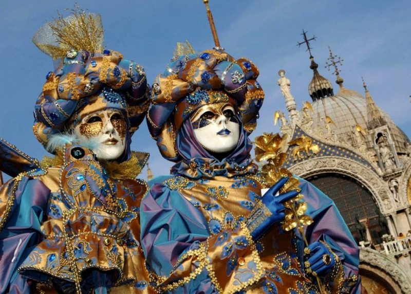 маски Венеция