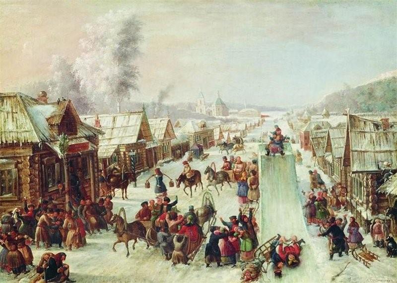 масленица праздник русь