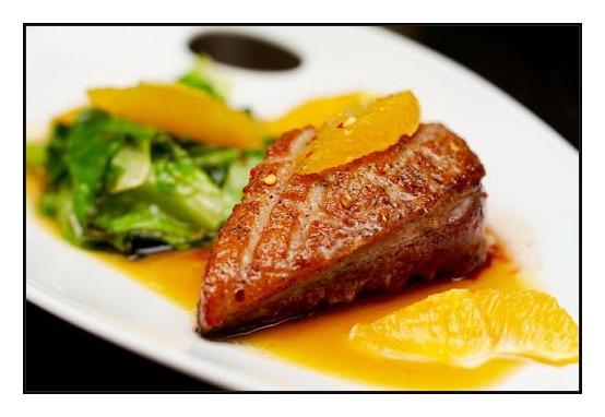 апельсиновый соус рыба