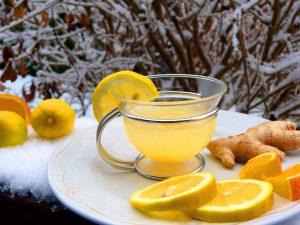 имбирь чай