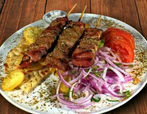 Каламаки из свинины