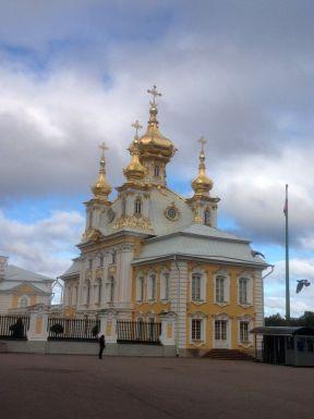 The church at Peterhof