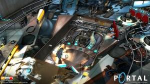 Pinball FX2's Portal Themed Table