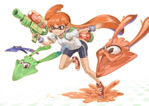 Splatoon trying to stay Clean, ironic isn't it?