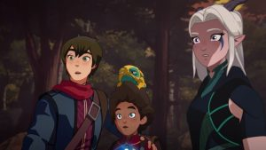 NETFLIX'S THE DRAGON PRINCE: SEASON 1: Review – A NEW ADVENTURE BEGINS!