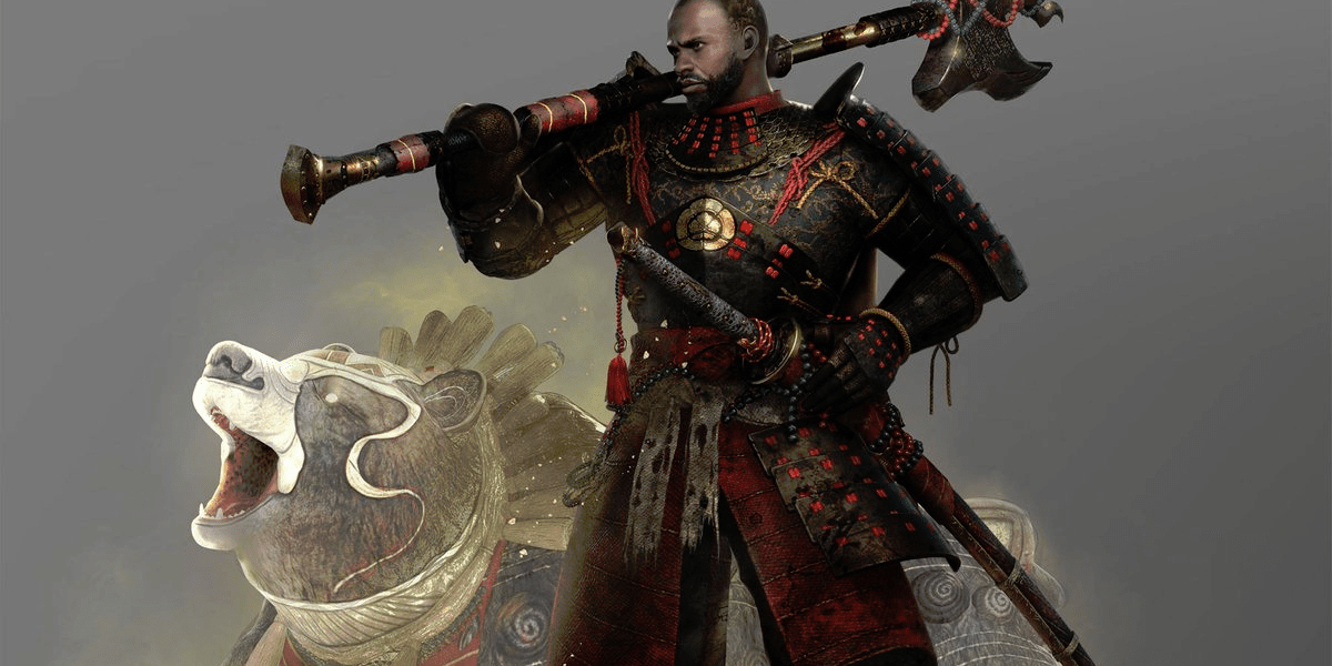 Image from game called Nioh