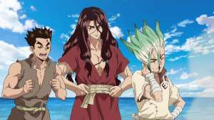 Dr. STONE Episode 2 – King of the Stone World Review