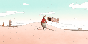 Sable: An Exploration Indie Game With A Strikingly, Gorgeous Rendered Open World Desert!