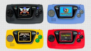 Sega's Game Gear Micro is $50 For Each consoles with four games each??