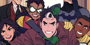 Batman: Wayne Family Adventures Webtoons First Impression