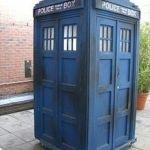 Tardis. Dr. Who, time machine