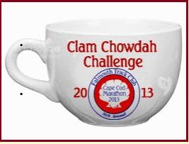 Falmouth, marathon, half, clam chowder, chowdah