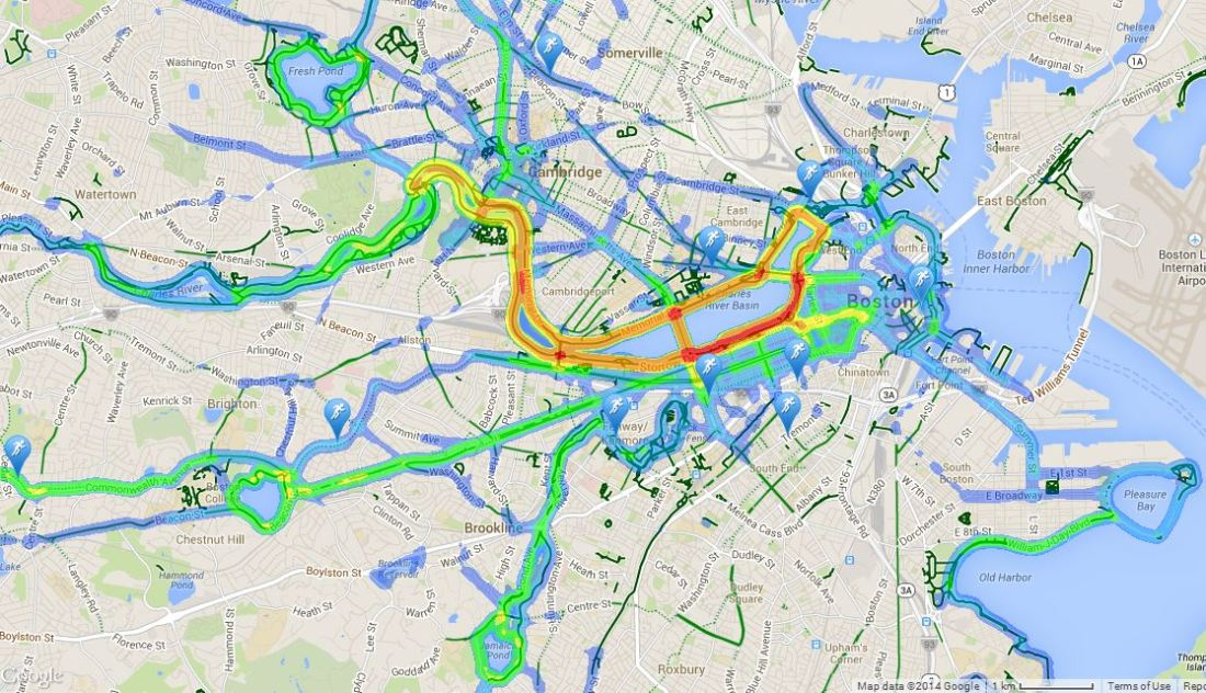 Traffic Map Boston.Boston Running Traffic Omni Running