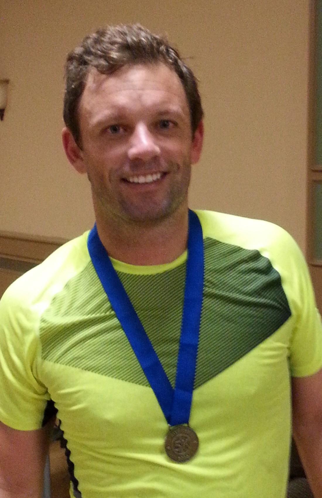 First 5K Medal, finishers medal