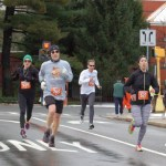 thanksgiving races, first 5k medal, Boston Volvo