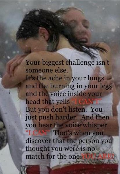 Challenge, running